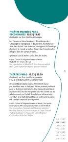 Festival philo Escales 2013 - programme - Enseignement en ... - Page 5