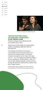 Festival philo Escales 2013 - programme - Enseignement en ... - Page 6