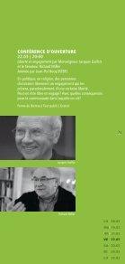 Festival philo Escales 2013 - programme - Enseignement en ... - Page 7