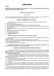 1 comune di trento n. 9681/7 avviso di concorso pubblico per esami ...