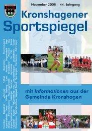 November - TSV Kronshagen