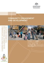 Community Engagement and Development - Department of ...