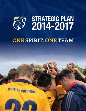 2014-2017 BC Rugby Strategic Plan