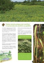 Plaquette destinée aux jardiniers - La maison de l'environnement de ...