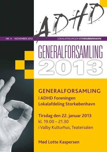 generAlforsAmling - ADHD: Foreningen