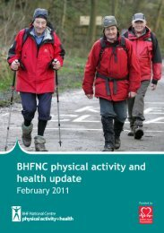 Download the February 2012 update - BHF National Centre ...