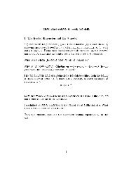 Turbulence course, 6. week problem 1 . The fractal dimension and ...