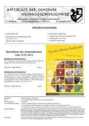 17.00 Uhr (Einlass: ab 16.00 Uhr) - Neuhaus-Schierschnitz
