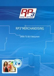 OTB Resumen - RP3 Retail Software