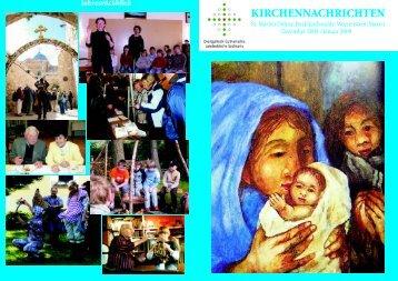 Dez/Jan (2009) - Kirchgemeinde Dohna