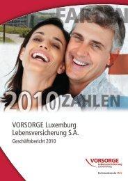 VORSORGE Luxemburg Lebensversicherung S.A. - Anbieter