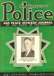 Police and Peace Officers Journal - November 1945 - San Francisco ...