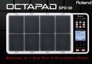 OCTAPAD Catalog - Roland