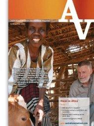 Focus on Africa - Australian Volunteers International