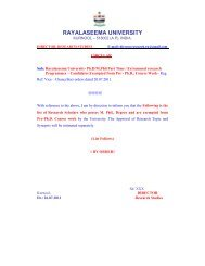 Circular - Pre-Ph.D Exempted Candidates - PHASE-II
