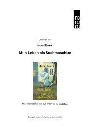 Mein Leben als Suchmaschine - Rowohlt Theaterverlag