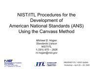 Using the Canvass Method - NIST Visual Image Processing Group