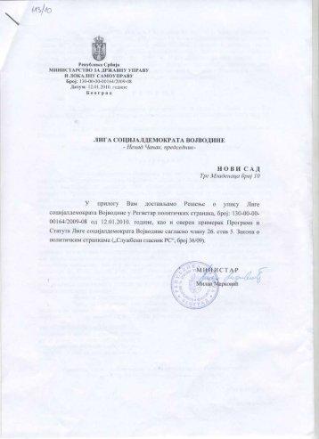 Resenje o upisu LSV u registar političkih stranaka.pdf