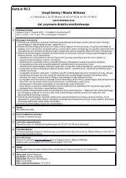 Karta nr PS/3 Urząd Gminy i Miasta Witkowo
