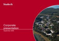 Corporate presentation - Investor Relations