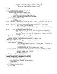 ghid biologie celulara si moleculara romani - UMF - Iuliu Haţieganu