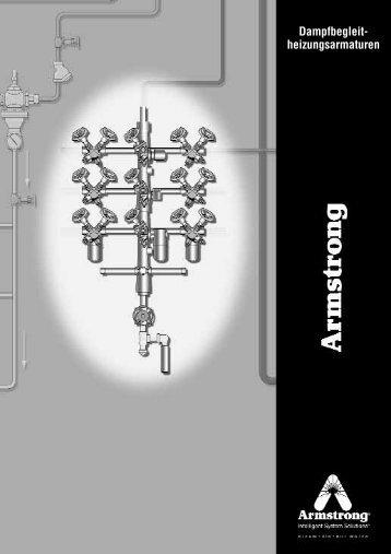 Typentabelle für Armstrong- Dampfbegleitheizungsarmaturen