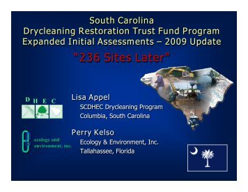 Lisa's presentation (PDF) - State Coalition for Remediation of ...