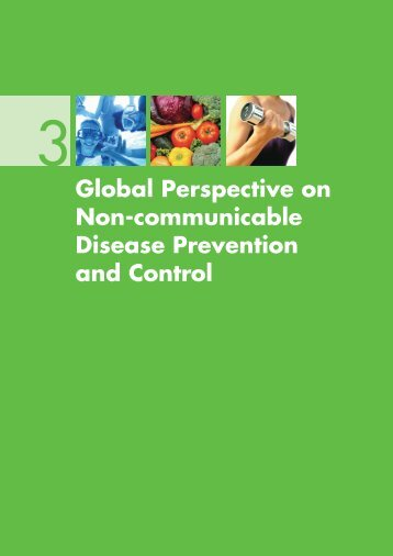 Global Perspective on Non-communicable Disease Prevention and ...