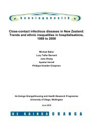 Close-contact infectious diseases in New Zealand - Healthy ...