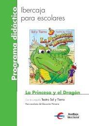 28324 PRINCESA Y DRAGON-cuaderno niños - Ibercaja