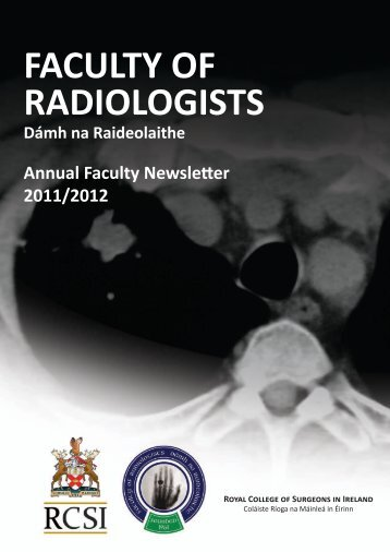 Annual Report 2011-2012 - Faculty of Radiologists