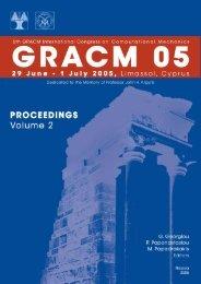 (GRACM05), Vol. 2 - University of Cyprus