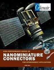 NANOMINIATURE CONNECTORS - Glenair, Inc.