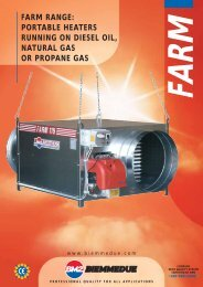 FARM RANGE: PORTABLE HEATERS RUNNING ON DIESEL OIL ...