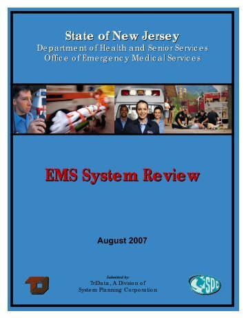 EMS System Review - State of New Jersey
