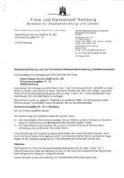 Freie und Hansestadt Hamburg - Noske-Kaeser GmbH