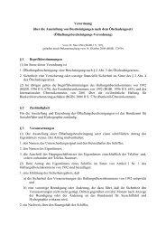 Verordnung über die Ausstellung von Bescheinigungen nach dem ...