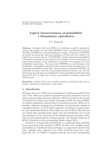 Logical characterization of probabilistic τ-bisimulation equivalences