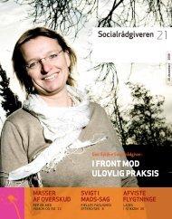 Socialrådgiveren nr. 21-2008 - Dansk Socialrådgiverforening