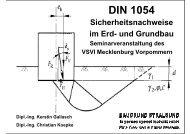 DIN 1054 - VSVI MV