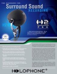 Download Full Specs - Holophone