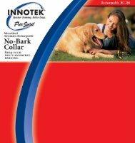 Innotek Rechargeable Bark Collar - BC-200 - RadioFence.com