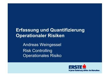 Operationales Risiko