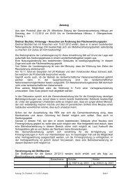 Protokoll vom 27.12.2012 - Hittisau