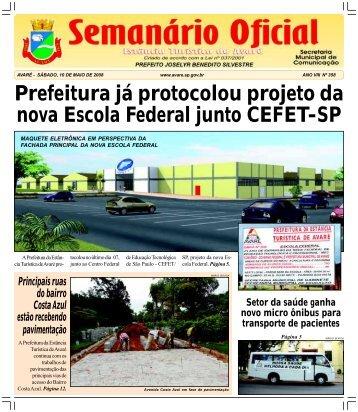 Prefeitura já protocolou projeto da nova Escola Federal junto ...