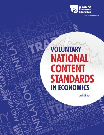 Voluntary National Contents Standards - Council for Economic ...