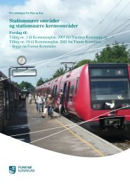 Stationsnære områder og stationsnære kerneområder