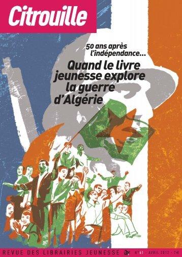 la guerre d'Algérie jeunesse explore Quand le livre