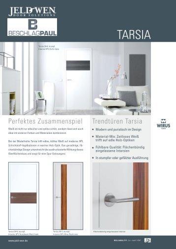 Trendtüren Tarsia - Beschlag Paul GmbH