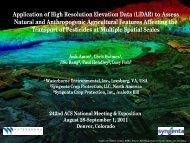 Application of High Resolution Elevation Data (LiDAR) to Assess ...